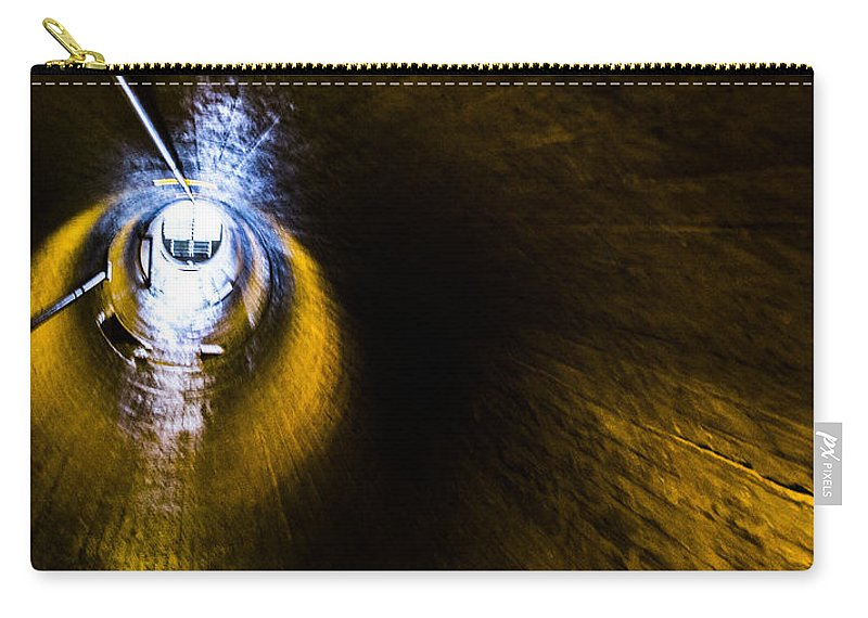 Nevada Carry-all Pouch featuring the photograph Ventilation Tunnel 2 by Angus Hooper Iii