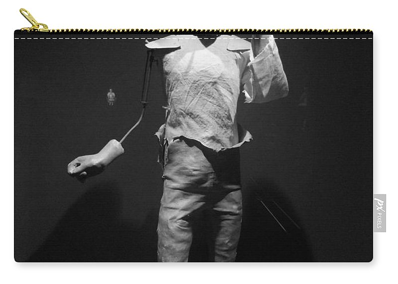 Abstract Carry-all Pouch featuring the photograph Ventriloquist by Lauren Leigh Hunter Fine Art Photography