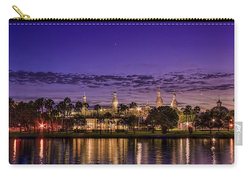 Minarets Carry-all Pouch featuring the photograph Venus Over The Minarets by Marvin Spates