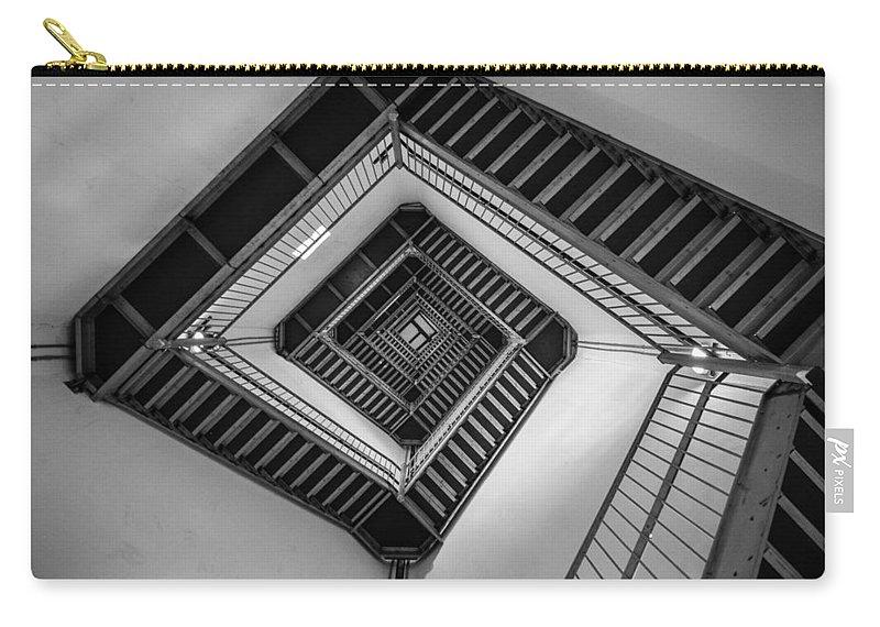 New Jersey Carry-all Pouch featuring the photograph Vertigo by Kristopher Schoenleber
