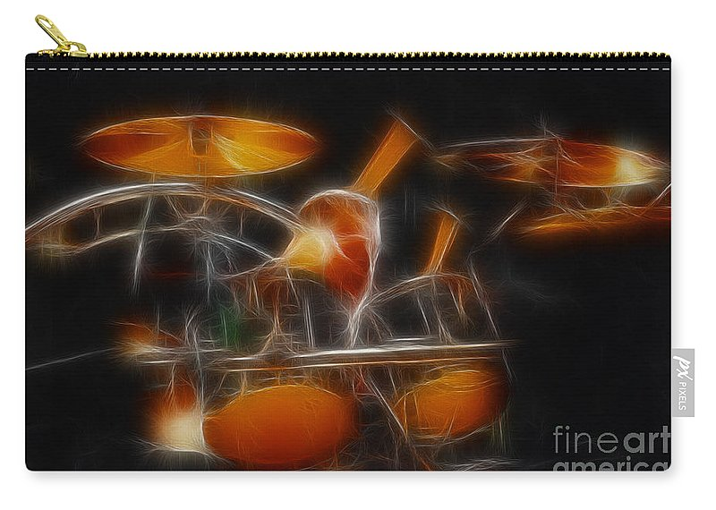 Music Carry-all Pouch featuring the photograph Vh-alex-balance-gb32-fractal by Gary Gingrich Galleries