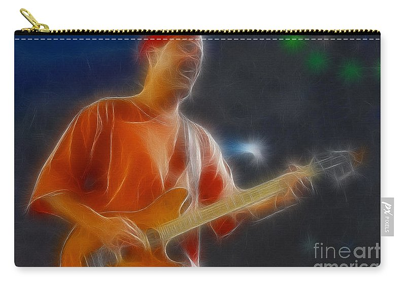 Music Carry-all Pouch featuring the photograph Vh-eddie-balance-gc20-fractal by Gary Gingrich Galleries