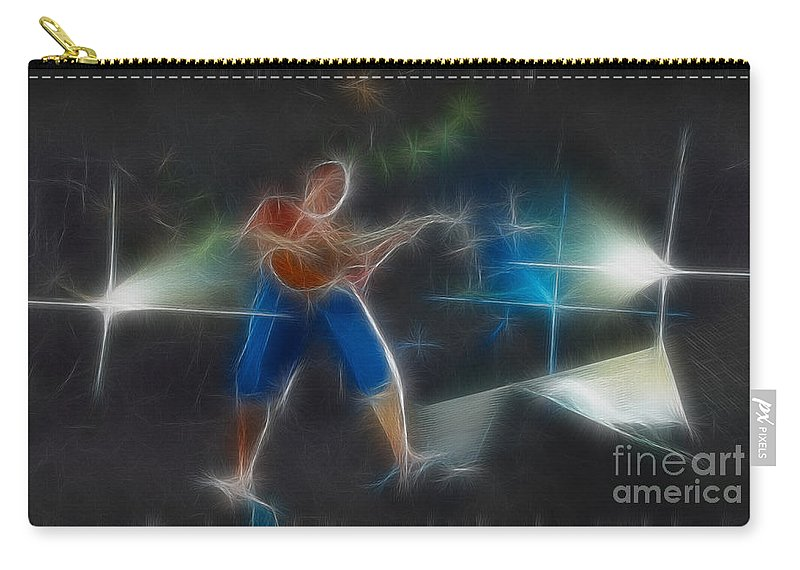 Music Carry-all Pouch featuring the photograph Vh-eddie-balance-gd2-fractal by Gary Gingrich Galleries