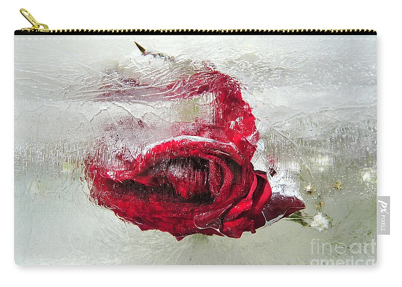 Rose Carry-all Pouch featuring the photograph Victim Of Anti-aging by Randi Grace Nilsberg