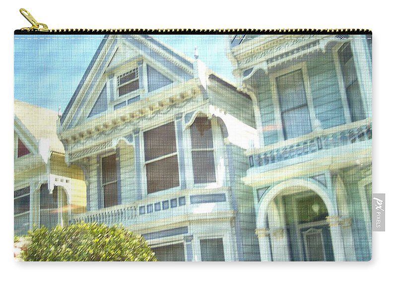 Victorians Carry-all Pouch featuring the photograph Victorian Cloth by Pharris Art