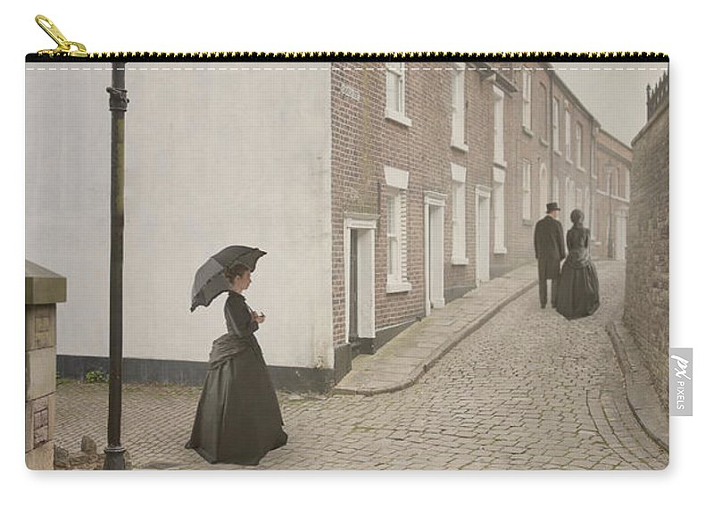 Victorian Carry-all Pouch featuring the photograph Victorian Life by Lee Avison