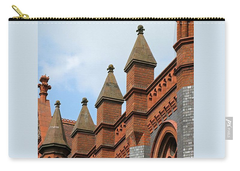 Victorian Carry-all Pouch featuring the photograph Victorian Orange by Ann Horn