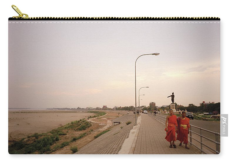 Asia Carry-all Pouch featuring the photograph Vientiane Laos by Shaun Higson