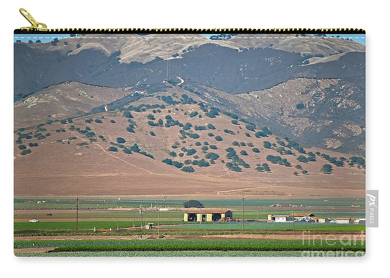 Susan Wiedmann Carry-all Pouch featuring the photograph View From The Crops by Susan Wiedmann