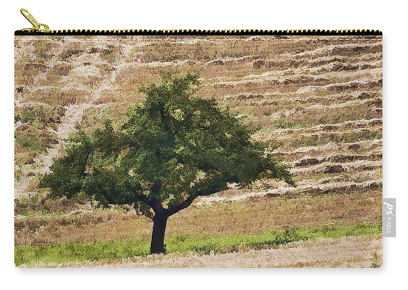 Landscape Carry-all Pouch featuring the photograph View From The Window by Marcia Colelli