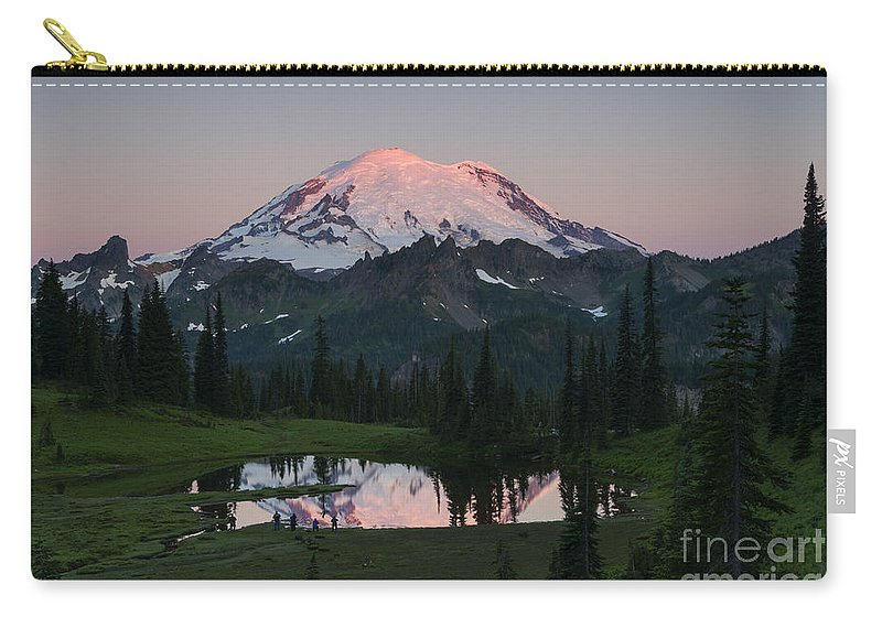 Rainier Carry-all Pouch featuring the photograph View To Be Shared by Mike Dawson