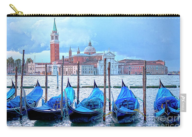 Venice Carry-all Pouch featuring the photograph View To San Giorgio Maggiore by Heiko Koehrer-Wagner