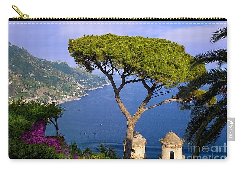 Villa Carry-all Pouch featuring the photograph Villa Rufolo by Brian Jannsen