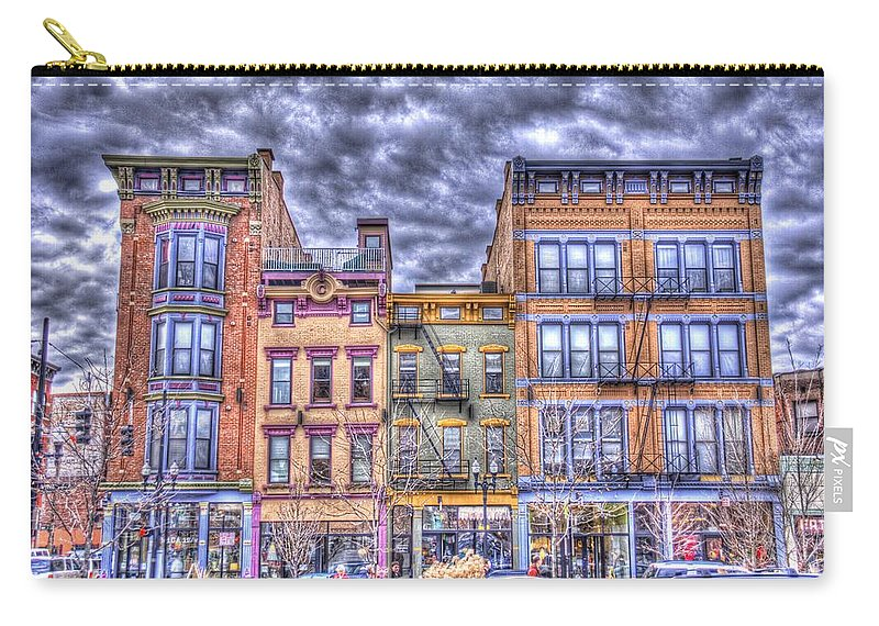 Vine Carry-all Pouch featuring the photograph Vine Street by Daniel Sheldon