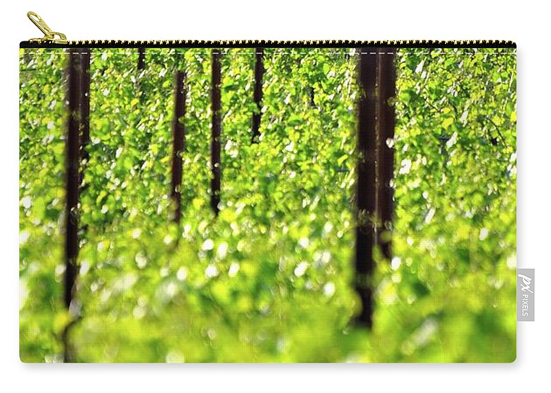 Willamette Carry-all Pouch featuring the photograph Vineyard 24056 by Jerry Sodorff