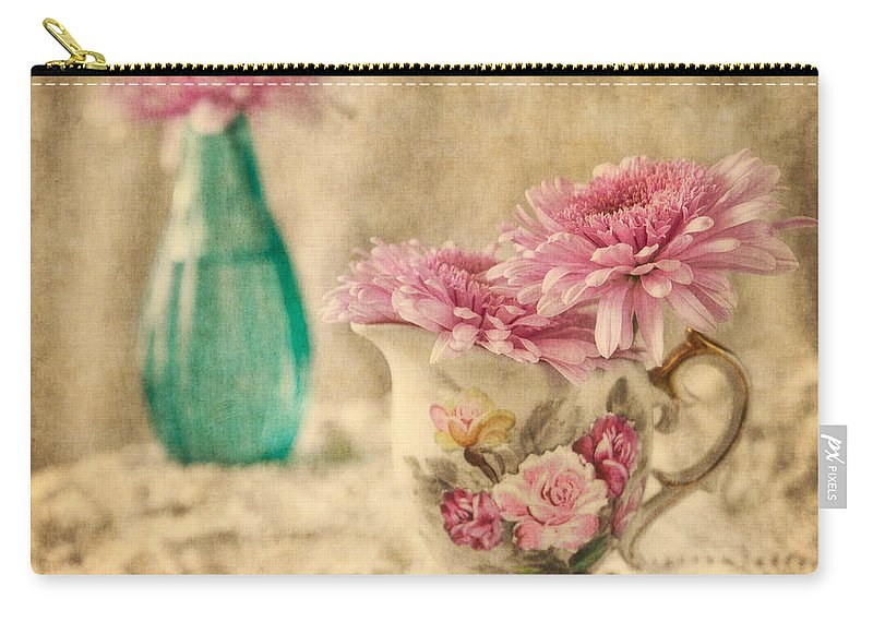 Floral Carry-all Pouch featuring the photograph Vintage Color by Dale Kincaid