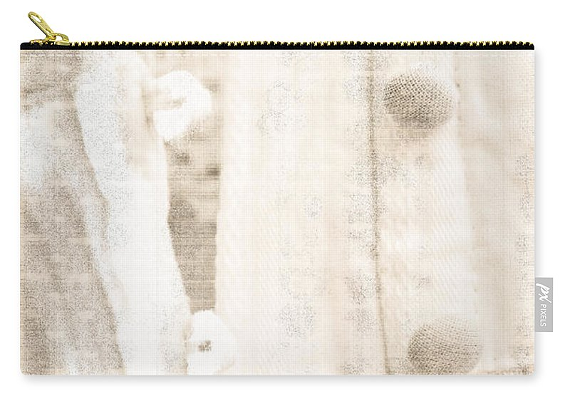 Lace Carry-all Pouch featuring the photograph Vintage Lace Unbuttoned by Marie Jamieson