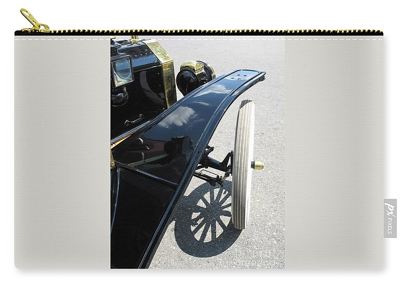 Model T Carry-all Pouch featuring the photograph Vintage Model T by Ann Horn