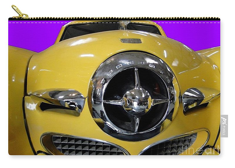 Classic Carry-all Pouch featuring the photograph Vintage Studebaker by Barbie Corbett-Newmin
