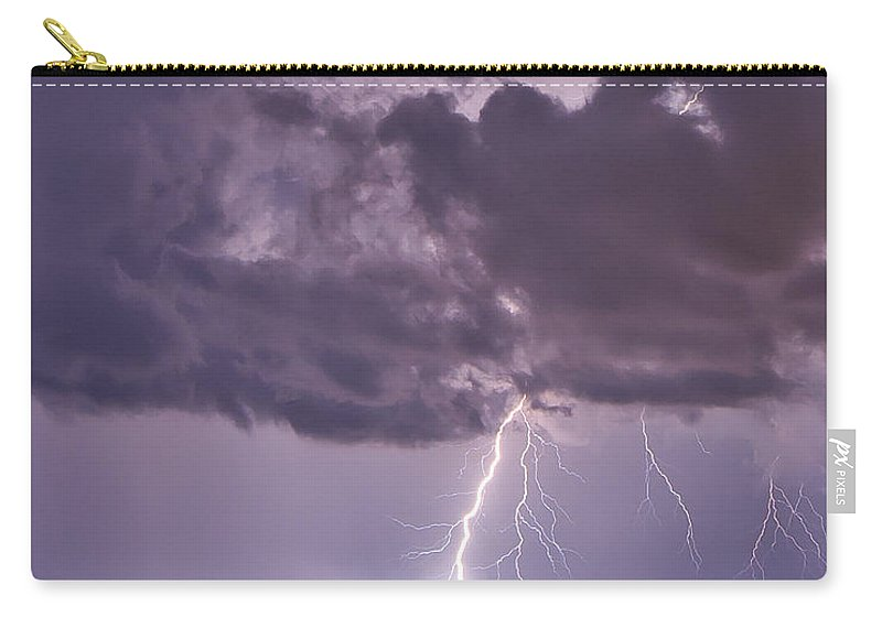 Florida Carry-all Pouch featuring the photograph Violet by Stephen Whalen