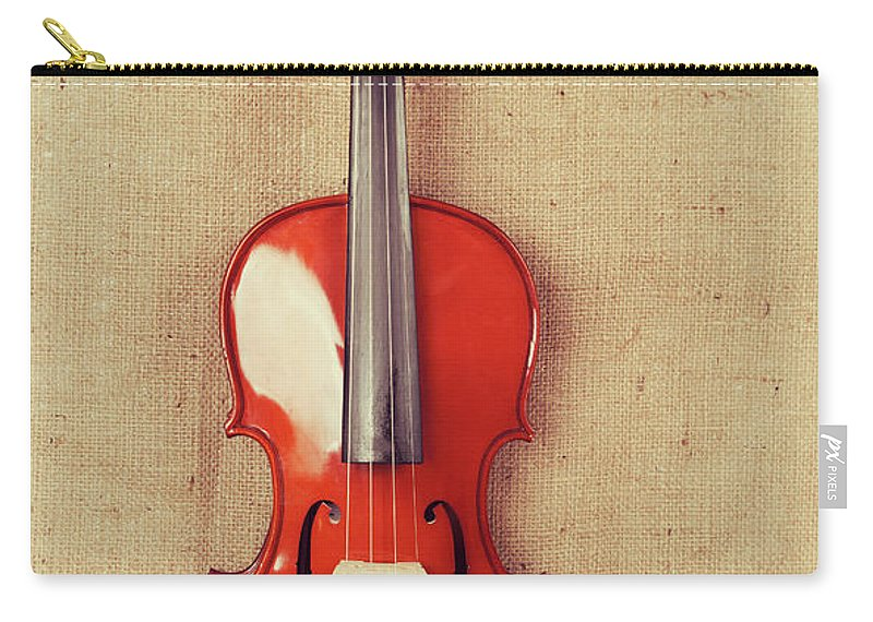 Chord Carry-all Pouch featuring the photograph Violin by Baytunc