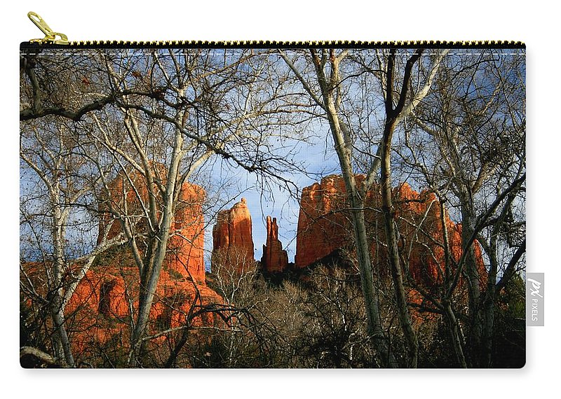 Arizona Carry-all Pouch featuring the photograph Vision by Miles Stites