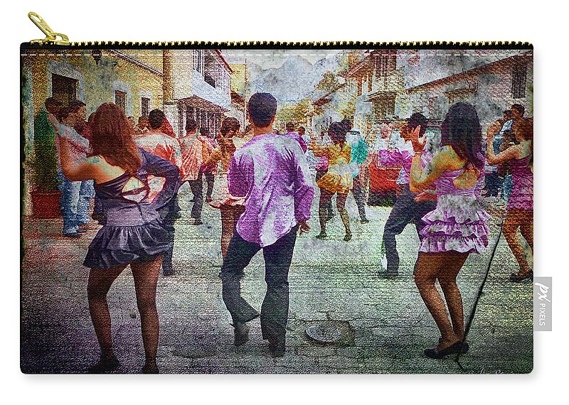 Julia Springer Carry-all Pouch featuring the photograph Viva La Fiesta by Julia Springer
