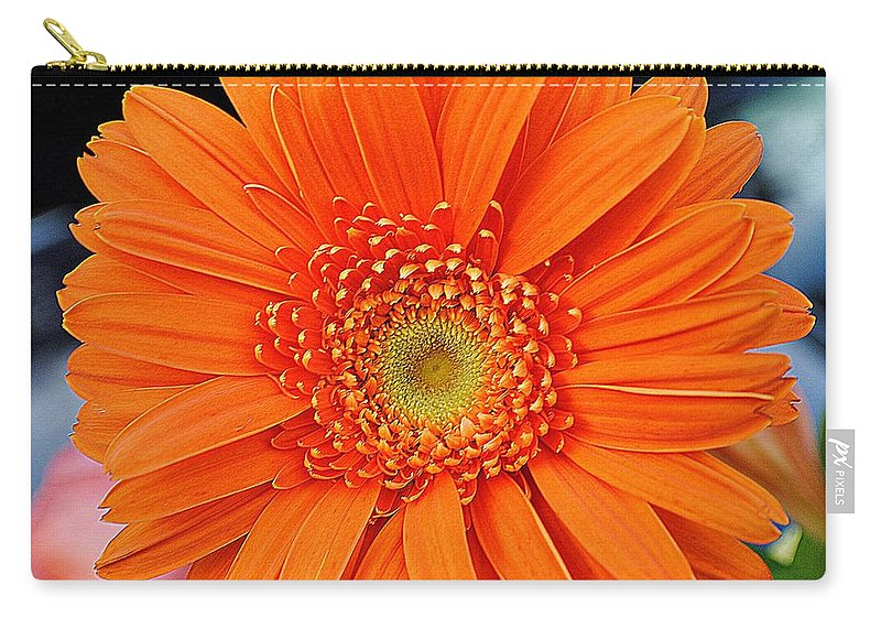 Vivid Carry-all Pouch featuring the photograph Vividacious by Frozen in Time Fine Art Photography