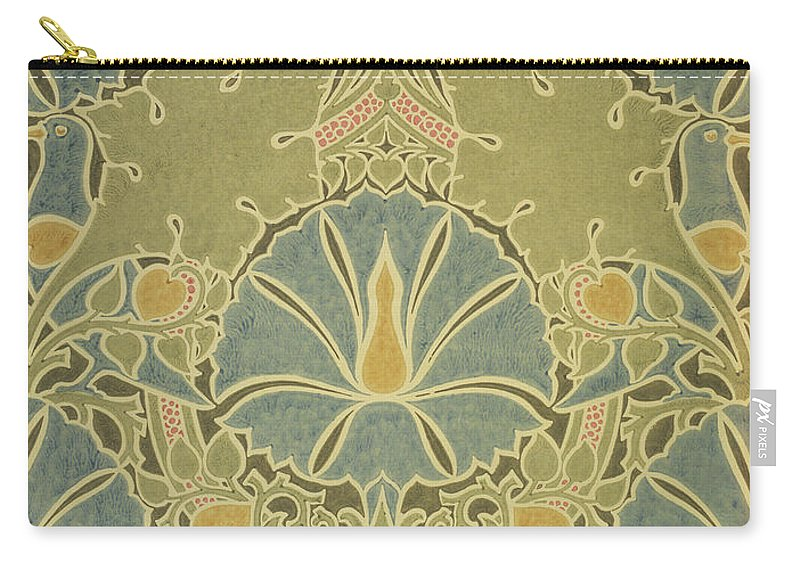William Carry-all Pouch featuring the digital art Voisey The Saladin by William Morris