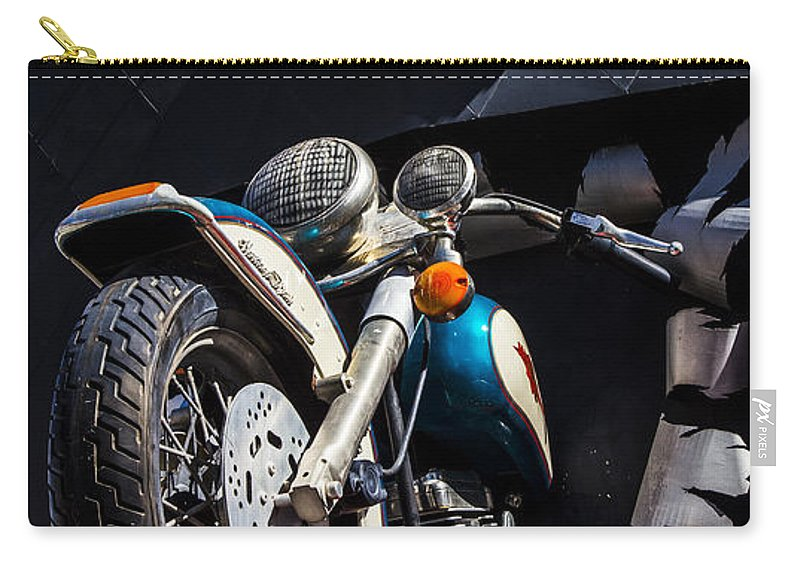 Nevada Carry-all Pouch featuring the photograph Vroom Vroom by Angus Hooper Iii