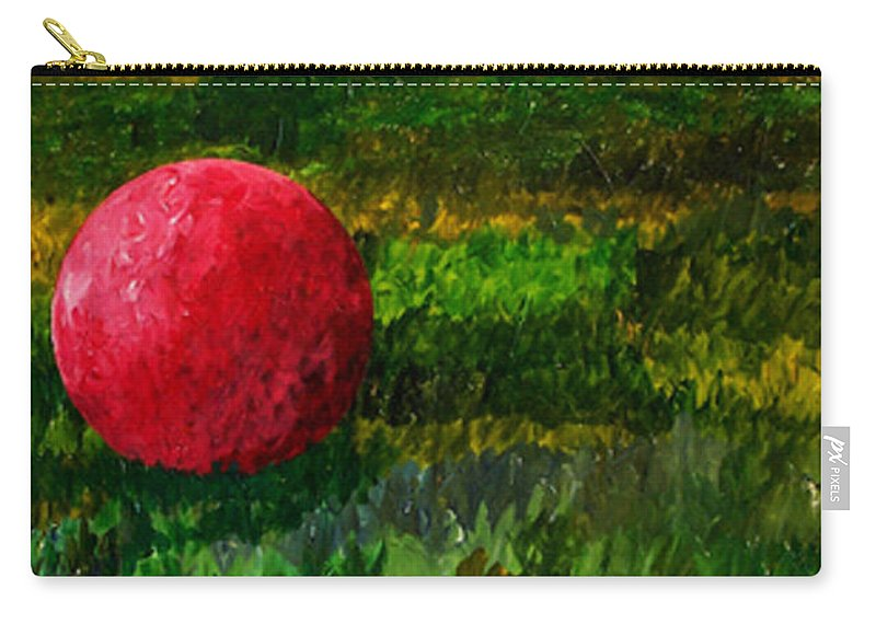 Color Carry-all Pouch featuring the painting W061814 by Bert Munoz