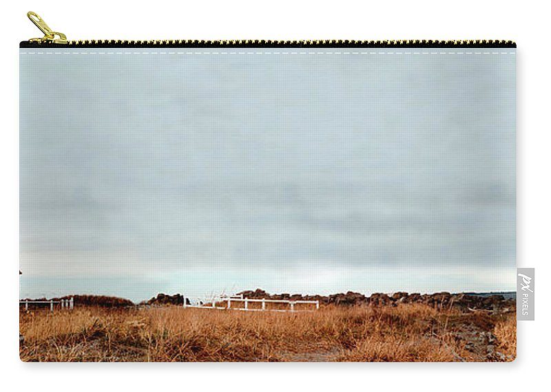 Carry-all Pouch featuring the photograph Wa State Lighthouse by Mike Nellums