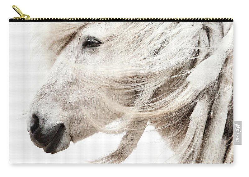 Wind Carry-all Pouch featuring the photograph Waiting For Spring by Gigja Einarsdottir