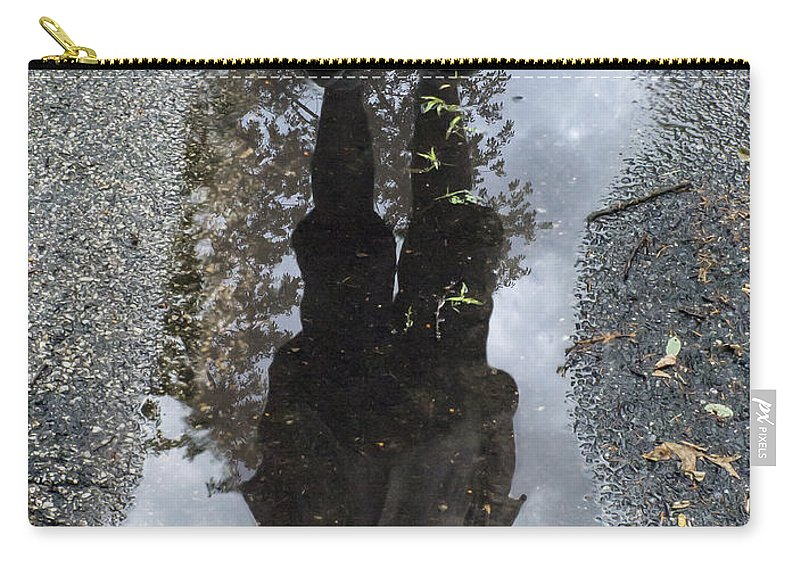 2d Carry-all Pouch featuring the photograph Walk In My Shoes by Brian Wallace