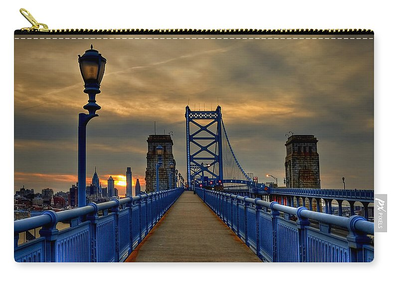 America Carry-all Pouch featuring the photograph Walk With Me by Evelina Kremsdorf