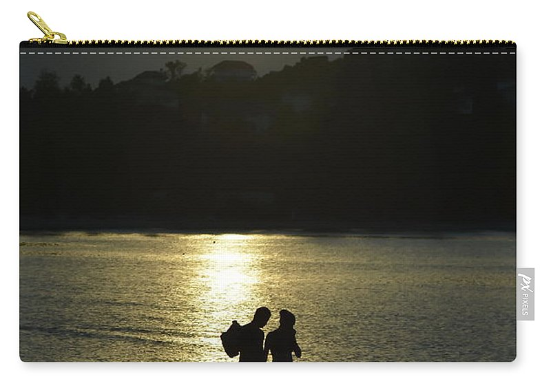 Michelle Meenawong Carry-all Pouch featuring the photograph Walking Home by Michelle Meenawong