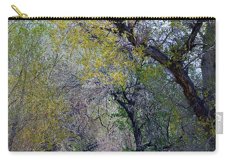 Man Carry-all Pouch featuring the photograph Walking The Path by Brent Dolliver