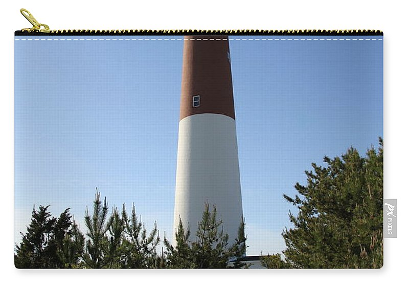 Barnegat Lighthouse Carry-all Pouch featuring the photograph Walkway To Barnegat Light by Christiane Schulze Art And Photography