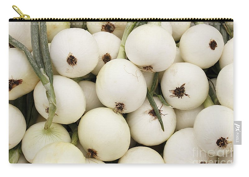 Walla Walla Carry-all Pouch featuring the photograph Walla Walla Sweet Onions by Lee Serenethos