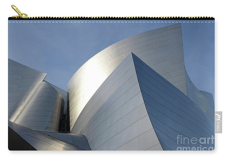 Disney Carry-all Pouch featuring the photograph Walt Disney Concert Hall 14 by Bob Christopher