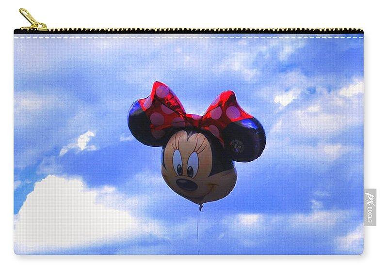 Walt Disney Carry-all Pouch featuring the photograph Walt Disney Smile by Riad Belhimer