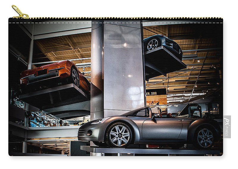 Chrysler Carry-all Pouch featuring the photograph Walter P Chrysler Museum by Ronald Grogan
