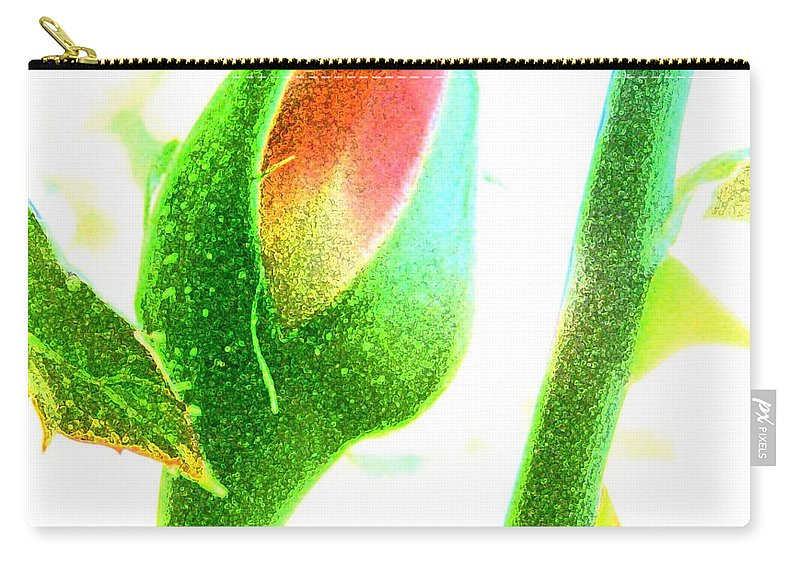 Rose Carry-all Pouch featuring the photograph Wandering Rose Garden by T Byron K
