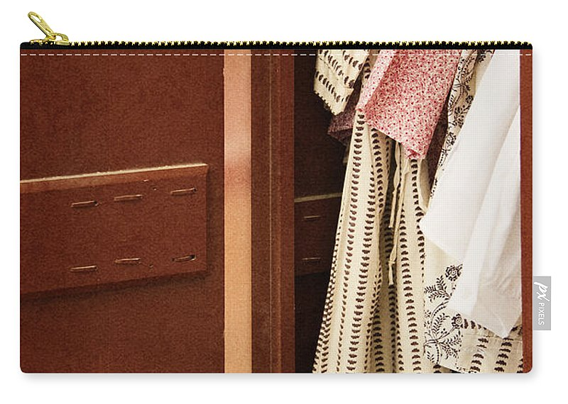 Dress Carry-all Pouch featuring the photograph Wardrobe by Margie Hurwich