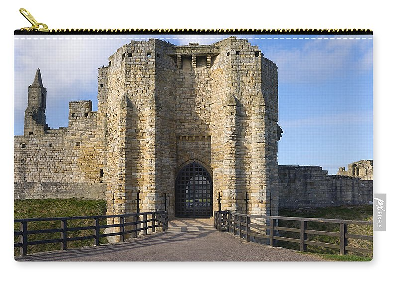Northumberland Carry-all Pouch featuring the photograph Warkworth Castle Gate House by David Head