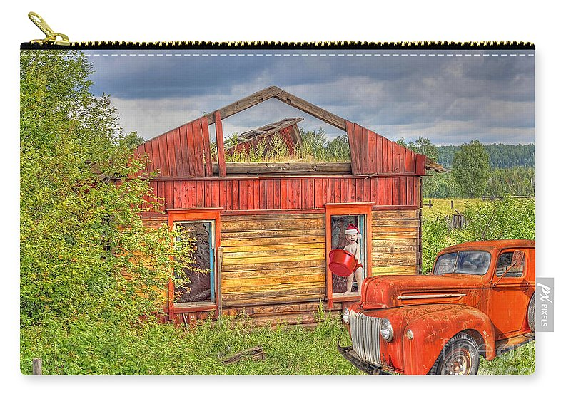 Wash Day Carry-all Pouch featuring the photograph Wash Day by Liane Wright