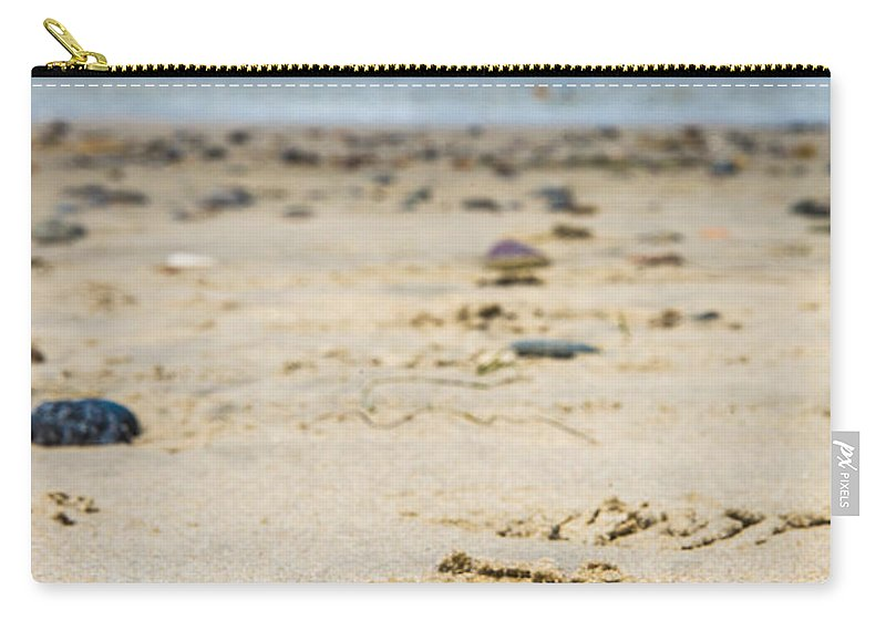 Cindy Tiefenbrunn Carry-all Pouch featuring the photograph Washed Ashore by Cindy Tiefenbrunn