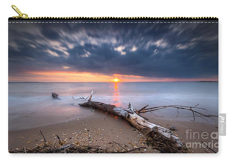 Life Of A Drifter Carry-all Pouch featuring the photograph Washed Up by Michael Ver Sprill