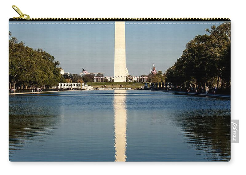 Washington Carry-all Pouch featuring the photograph Washington Monument by Traci Law