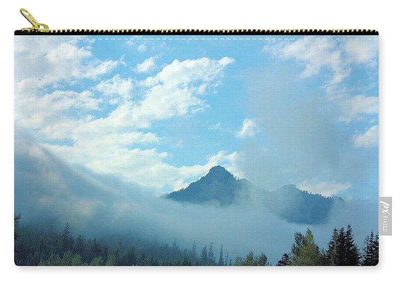 Washington Carry-all Pouch featuring the photograph Washington State by Kristin Elmquist